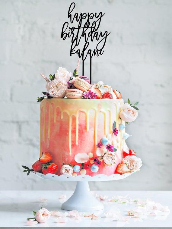 Birthday Cake Decoration